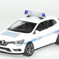 Renault megane police municipale 2016 norev 1 43 autominiature01 1