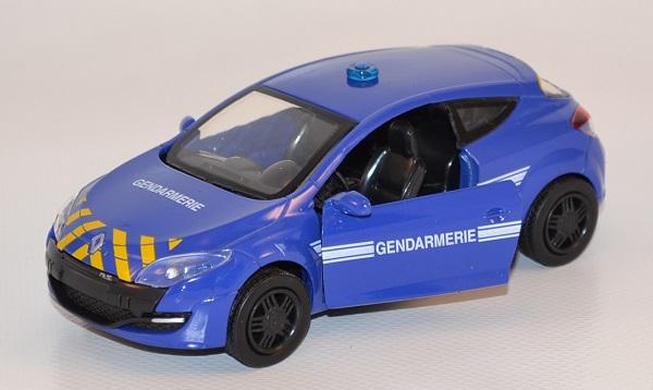 Renault megane rs gendarmerie bri autoroute 1 32 new ray 2010 autominiature01 com nwr51173 2