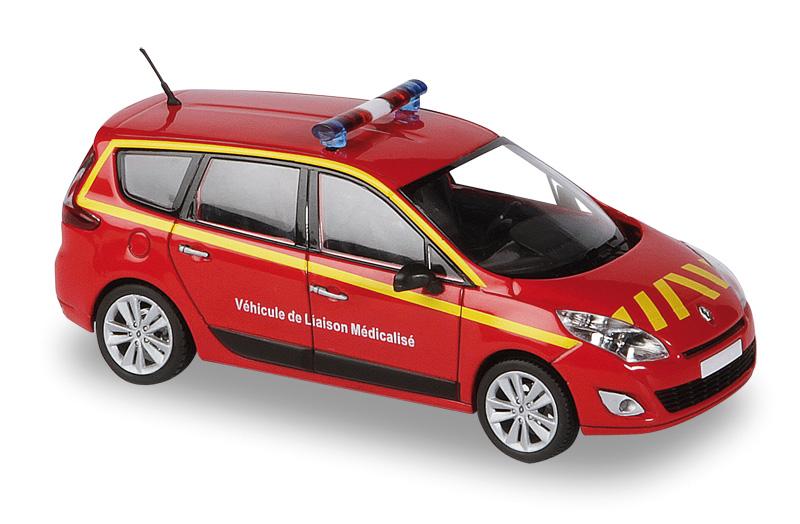 Renault scenic vl sapeurs pompiers solido 1 43 421501390 autominiature01