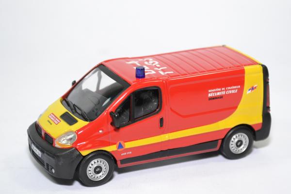 Renault trafic pompiers securite civile deminage oliex 1 43 oliex60441sc autominiature01 1