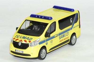 Renault 3 trafic SAMU 21 2014
