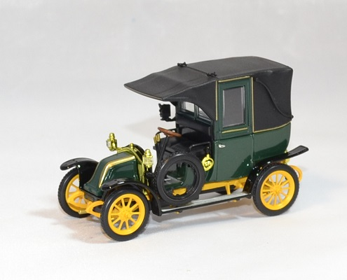 Renault type ag 1905 taxi marne 1 43 autominiature01 1