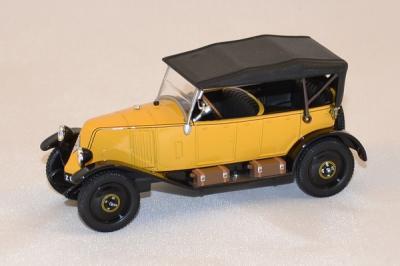 Renault Type NN Torpedo 1927 jaune Norev 1/43