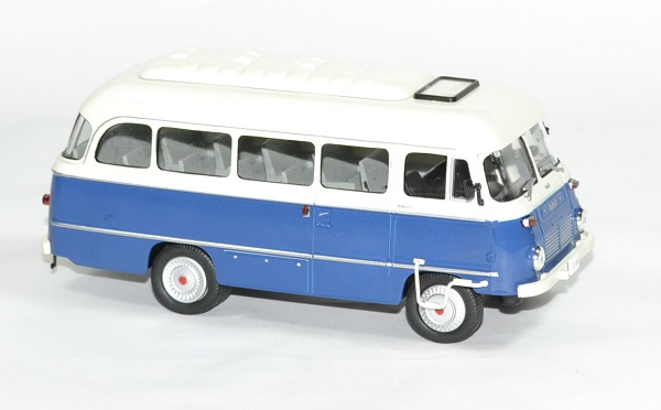 robur lo3000 autobus bleu blanc 1972 whitebox 1 43. Black Bedroom Furniture Sets. Home Design Ideas
