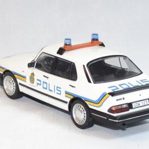 Saab 900i police suede 1987 ixo 1 43 autominiature01 2