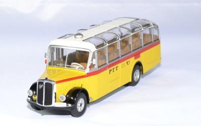 "Saurer L4C 1959 bus Allemand ""PTT"""
