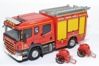Scania Double Cabine FPT Heinis Sapeurs Pompiers SDIS 57 Moselle