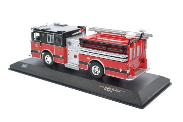 Seagrave 33 marauder pompier ixo sf 1 43 autominiature01 ixotrf003 2