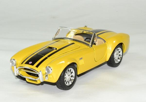 Shelby cobra 427 1965 jaune 1 24 maisto autominiature01 1