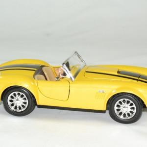Shelby cobra 427 1965 jaune 1 24 maisto autominiature01 3