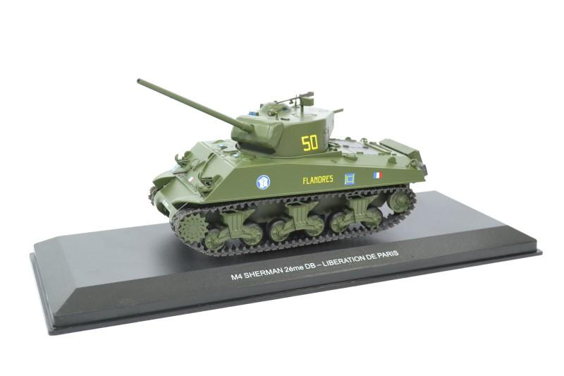 Sherman m4 france 2eme db libe paris 1944 odeon autominiature01 044m 1