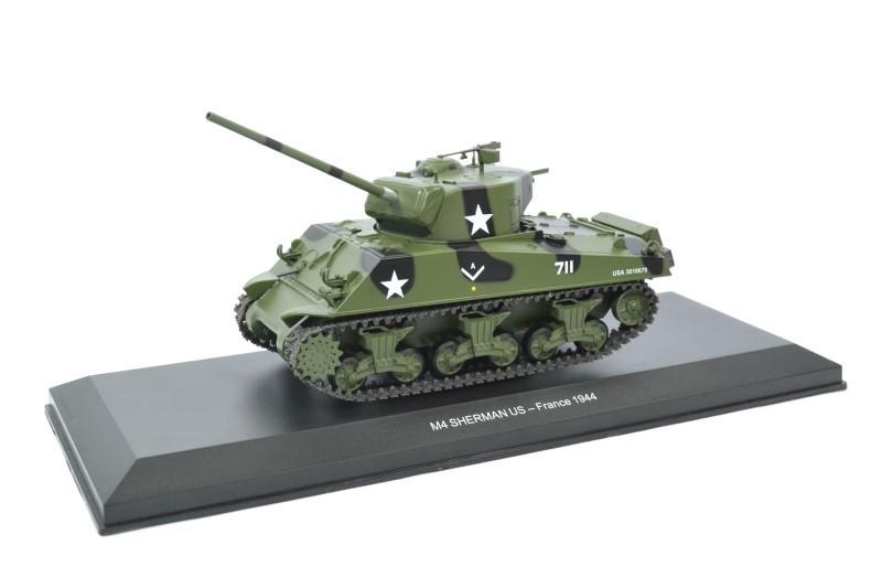 Shermann char m4 ww2 us 1944 odeon 1 43 autominiature01 043m 1