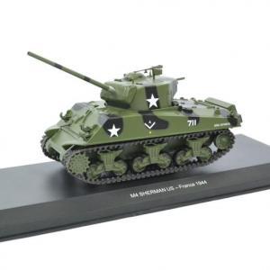 Sherman Tank US américain France 1944 WW2