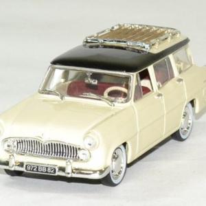Simca Marly Vedette 1957 jaune paille / noir