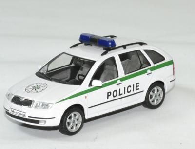 Skoda fabia Combi Police tchèque