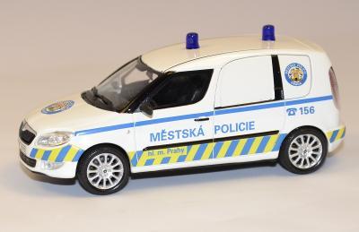 Skoda Praktik facelift police de prague Abrex 1-43