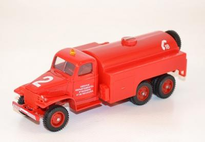 Gmc firefighter water reserve tank  1-50 Solido