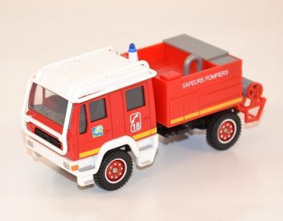Man Camion Citerne Feux de Forets Moyen CCFM pompiers 1-60 Solido