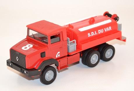 Solido renault 180 pompiers camion cioterne grande capacite du var au 1 50 autominiature01 com 1