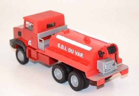 Solido renault 180 pompiers camion cioterne grande capacite du var au 1 50 autominiature01 com 3