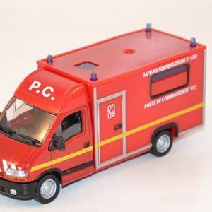 Renault Master 1998 pompiers poste Commandement Eure et Loire 1-50 solido