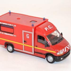 Solido renault master 1998 cellule de commandement eure et loire au 1 50 autominiature01 2