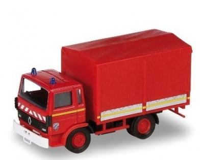 Renault baché fire truck solido 1/50