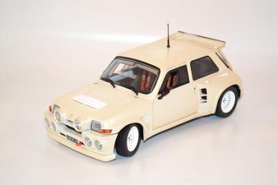 Renault R5 Maxi Turbo civile au 1-18 Solido prestige