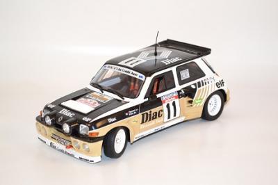 Renault R5 Maxi Turbo Diac Corse 1985 #11 F. chatriot