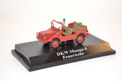 Dkw Munga 4 pompiers open Starline 1-43