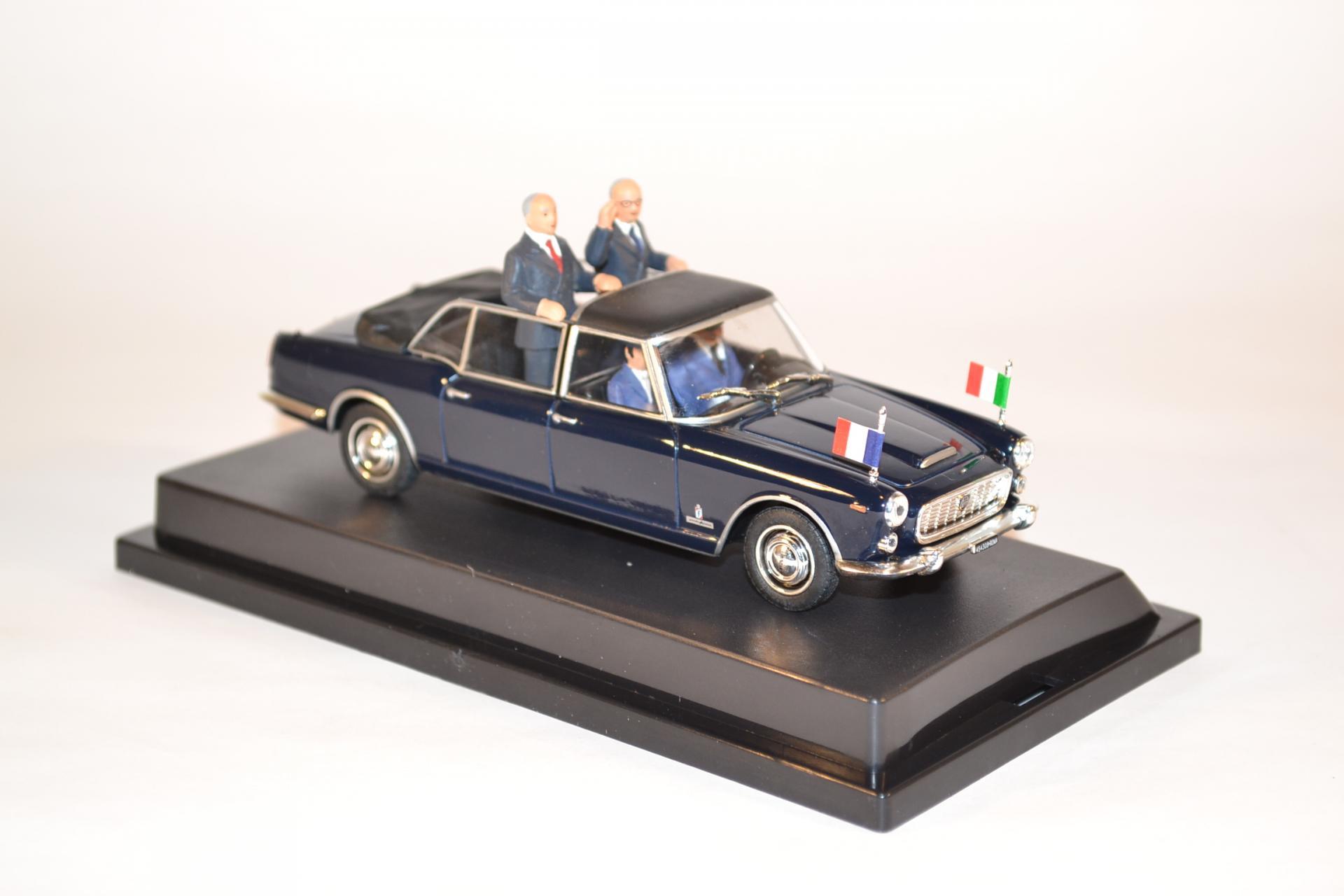 Starline lancia flaminia presidenziale saragat de gaulle mont blanc 1965 autominiature01 2