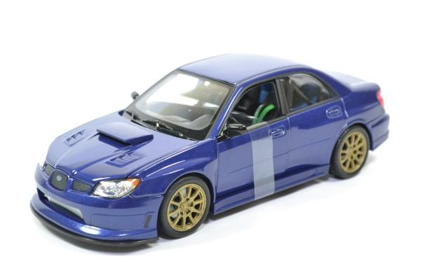 Subaru impreza sti wrx 1 24 welly autominiature01 22487ns 1