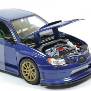 Subaru impreza sti wrx 1 24 welly autominiature01 22487ns 4