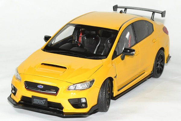 Subaru sti 2015 wrx s207 nbr challenge 1 18 sunstar autominiature01 1