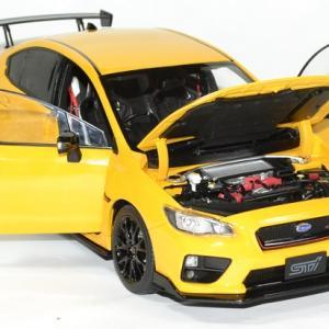 Subaru sti 2015 wrx s207 nbr challenge 1 18 sunstar autominiature01 2