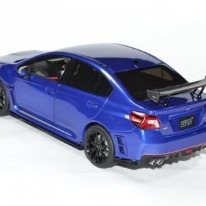 Subaru wrx sti s207 1 18 bleue 2015 sunstar autominiature01 2