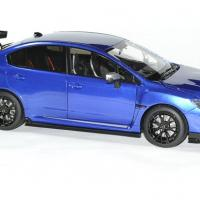 Subaru wrx sti s207 1 18 bleue 2015 sunstar autominiature01 3