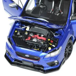Subaru wrx sti s207 1 18 bleue 2015 sunstar autominiature01 4