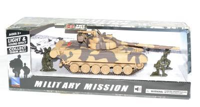Tank T80 avec figurines et sons