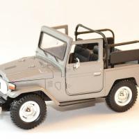 Toyota fj 40 gris decapote 1 24 motor max autominiature01 1