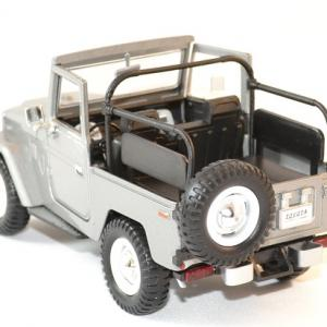 Toyota fj 40 gris decapote 1 24 motor max autominiature01 3