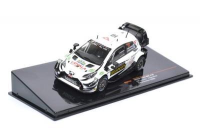Toyota yaris wrc #10 Latvala Hanninen rallye suède 2020