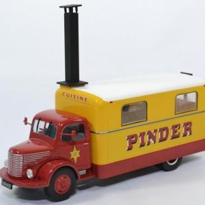 Unic camion cuisine Cirque Pinder 1952