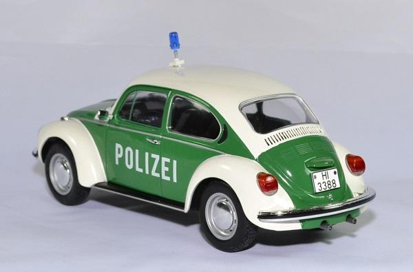 VOLKSWAGEN COCCINELLE 1303 POLIZEI 1//18 beetle police