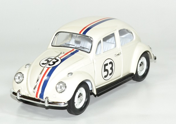 Volkswagen coccinelle choupette 53 1967 lucky 1 24 autominiature01 1