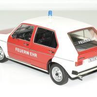 Volkswagen golf 1 pompier allemand 1 18 solido autominiature01 1
