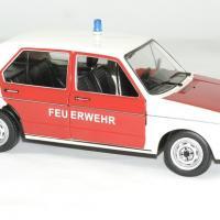 Volkswagen golf 1 pompier allemand 1 18 solido autominiature01 3