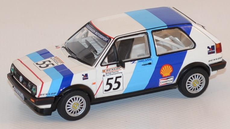 Volkswagen golf gti ii 16v 1988 rac corgi vanguards autominiature01 com van13601 1