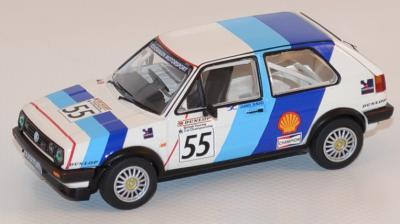 Volkswagen golf mk2 gti dunlop rac #55 1988