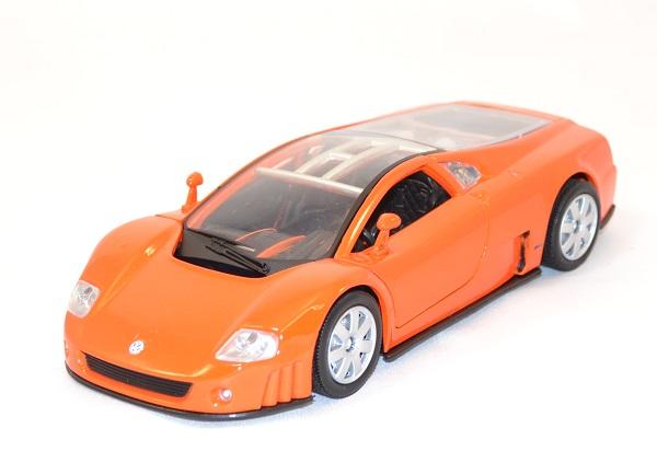 Volkswagen nardo w12 orange 1 24 miniature motor max 1